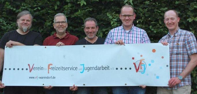 Die Notfallmanager 2019 (v. l. n. r.): Daniel Kiene (KW 30), Hubert Fenke (KW 29), Dieter Nissen (KW 32 und Hintergrunddienst), Thomas Mundmann (KW 34/35), Oliver Prinz (KW 31) und Ansgar Westmark (KW 33, fehlt auf dem Bild)