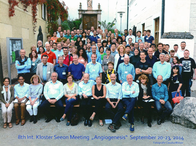 "Group picture: 8th Kloster Seeon ""Angiogenesis""', Sept. 20-23, 2014"