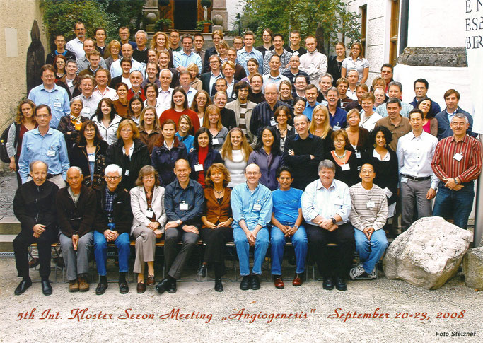 Group picture: 5th Kloster Seeon 'Angiogenesis',  Sept. 20-23, 2008