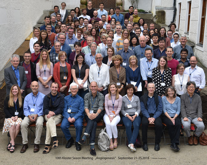 """Group picture: 9th Kloster Seeon """"Angiogenesis"""",  Sept. 17-20, 2016"""