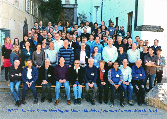 "Group picture: ""1st International Kloster Seeon Meeting on Mouse Models of Human Cancer"", March, 8-11, 2014"