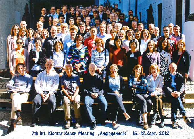 "Group picture: 7th Kloster Seeon ""Angiogenesis"", Sept. 15-18, 2012"