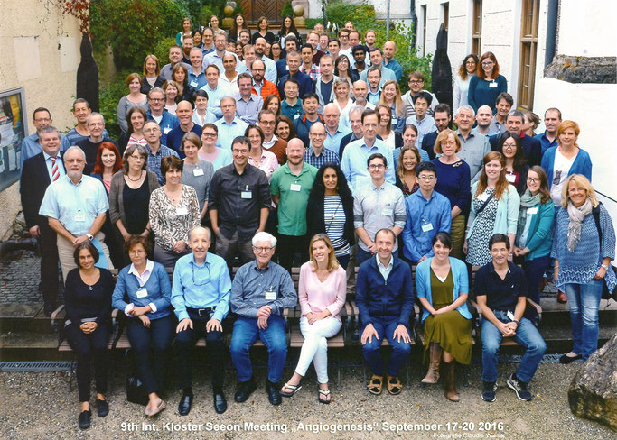 "Group picture: 9th Kloster Seeon ""Angiogenesis"",  Sept. 17-20, 2016"