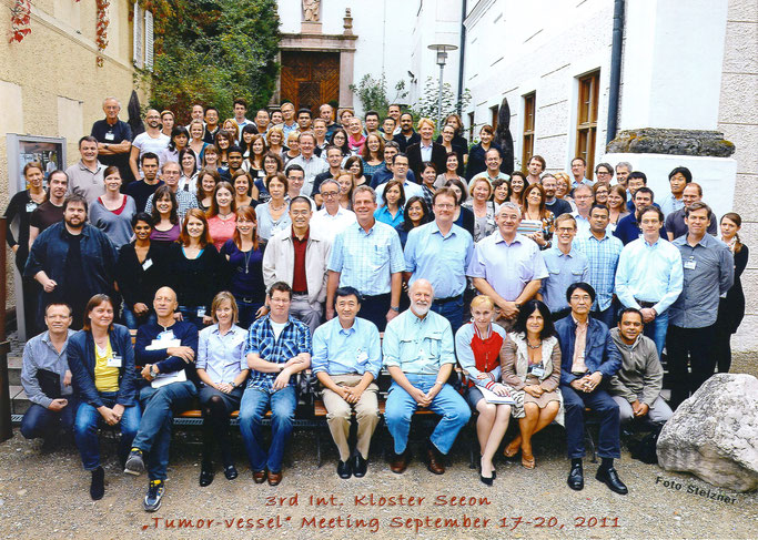 "Group picture: Kloster Seeon ""The tumor-vessel interface"", Sept. 17-20, 2011"