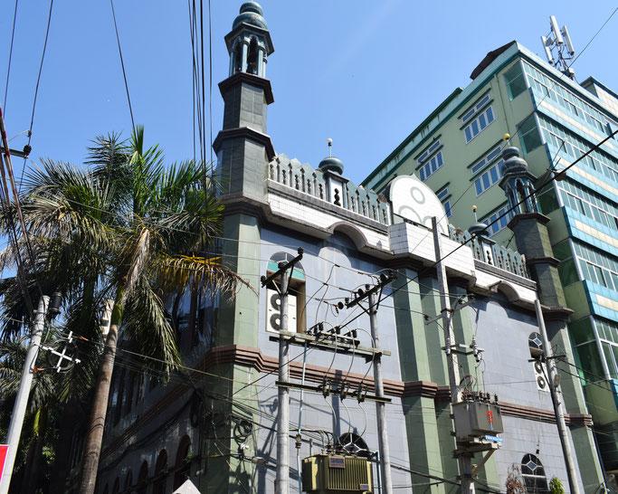 ヤンゴンにあるモスク