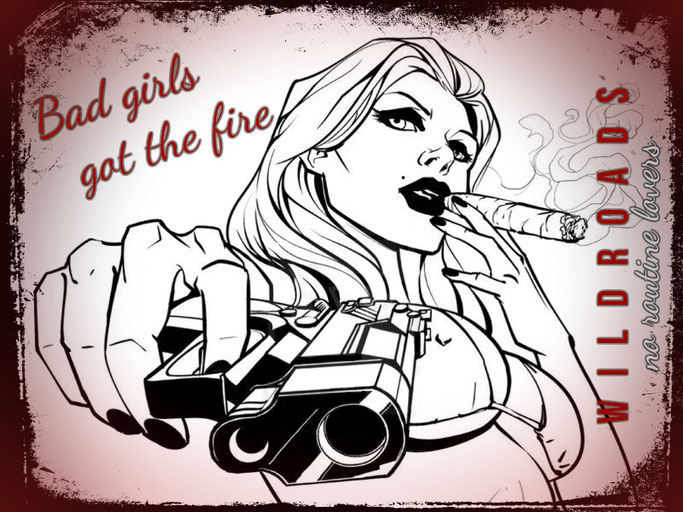 Bad Girls Got The Fire,New Single, Wildroads, Volcano Records, album, No, Rockers And Other Animals, Rock News, Rock Magazine, Rock Webzine, rock news, sleaze rock, glam rock, hair metal, Hard Rock