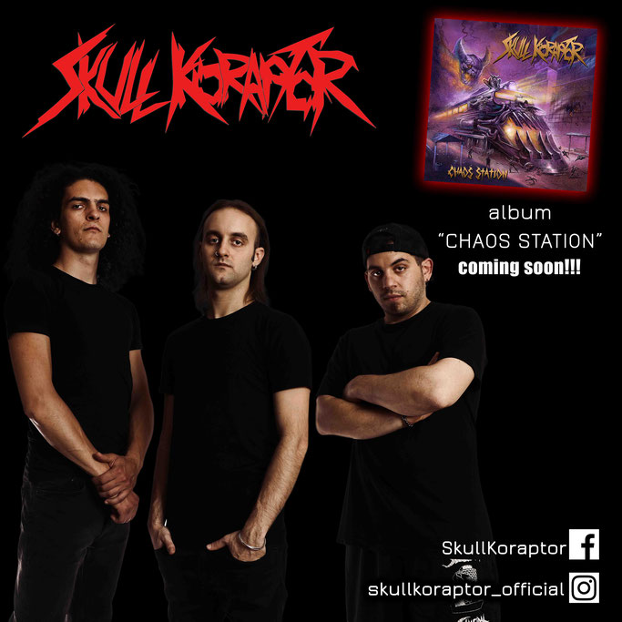 "SKULL KORAPTOR – single ""Blast it out""….+ Οfficial video, from upcoming album ""Chaos Station"""