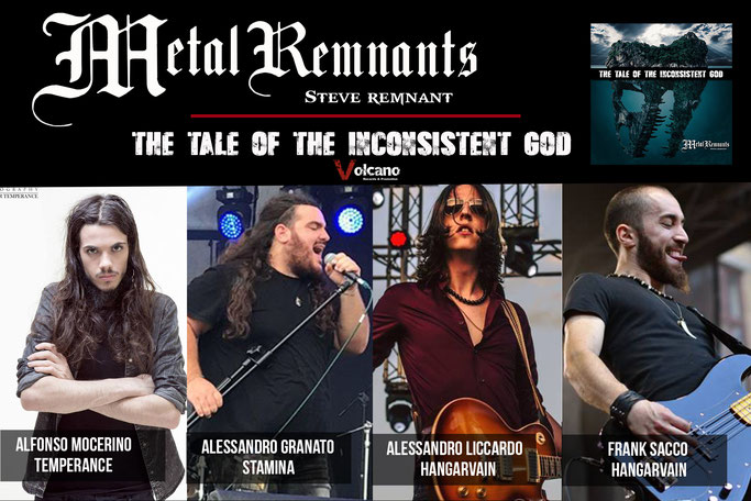 Il Dio Perverso, Steve Remnant: The Tale Of The Inconsistent God is online, News Rockers And Other Animals, Rock News, NWOBHM, Rock Magazine, Rock Webzine, rock news, sleaze rock, glam rock, hair metal