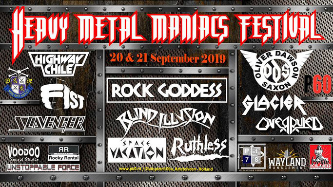 Ruthless, Space Vacation, Live, Heavy Metal Maniacs Festival2019, Pure Steel Records, Oliver Dawson Saxon,NEWS Rockers And Other Animals, Rock News, Rock Magazine, Rock Webzine, rock news, sleaze rock, glam rock, hair metal, Rock Goddess, Scavenger