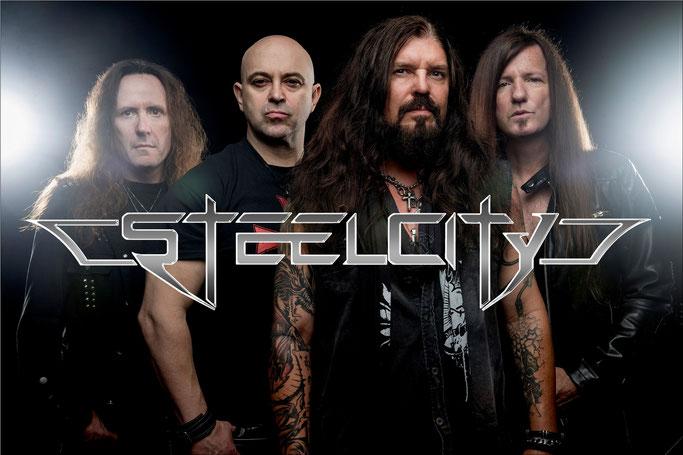 SteelCity, Perris Records,  new album, Mach II, rockersandotheranimals, rock, hard rock