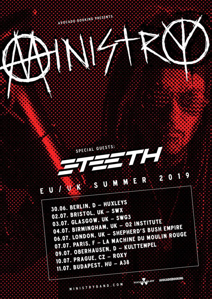 3TEETH, Lyric Video, AFFLUENZA,  Century Media records, METAWAR, METATOUR, European Tour 2019, News Rockers And Other Animals, Rock News, Rock Magazine, Rock Webzine, rock news, sleaze rock, glam rock, hair metal