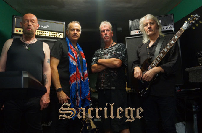 SACRILEGE, new video clip, The Court Of The Insane, Bill Beadle, Neil Turnbull, Jeff Rolland, Paul Macnamara, nwobhm, Marco Paracchini, Valeria Campagnale, Rockers And Other Animals, Insane Voices Labyrinth, news