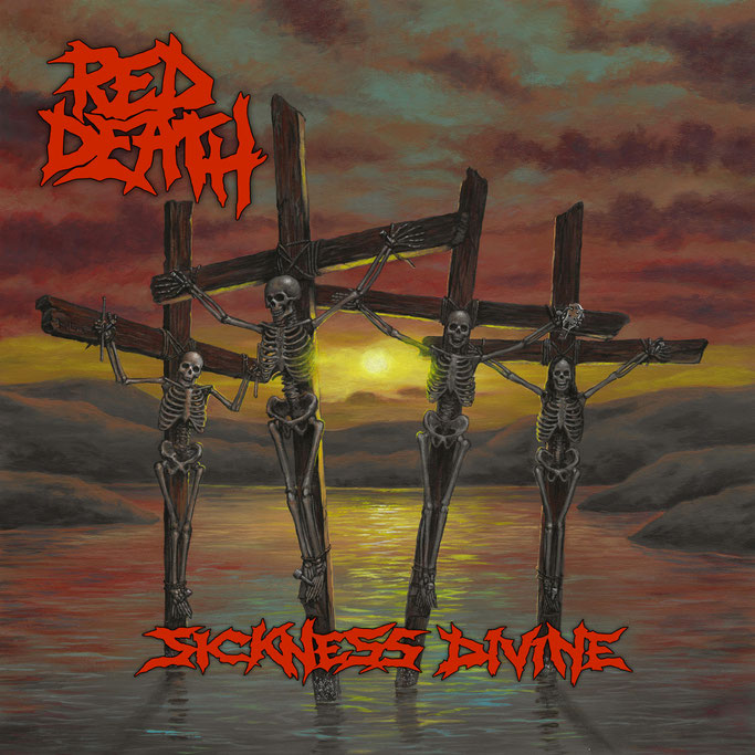 "RED DEATH announce new album ""Sickness Divine"""