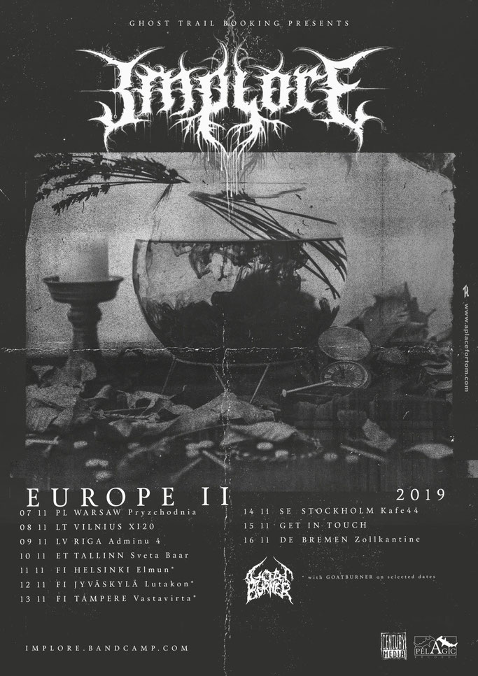 IMPLORE, European tour, Century Media Records, rockers and other animals, news, grindcore, death, punk