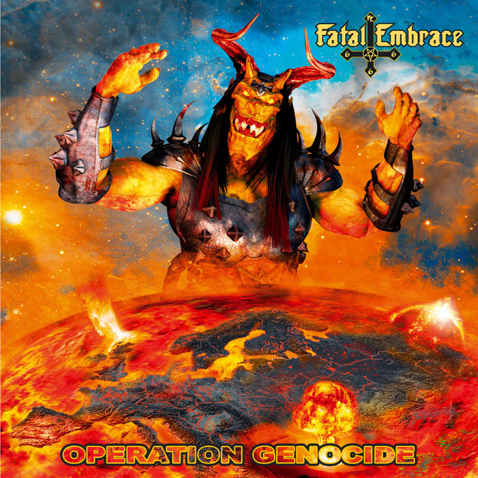 FATAL EMBRACE, Operation Genocide, Pure Steel records, Thrash Metal, News Rockers And Other Animals, Rock News, NWOBHM, Rock Magazine, Rock Webzine, rock news, sleaze rock, glam rock, hair metal