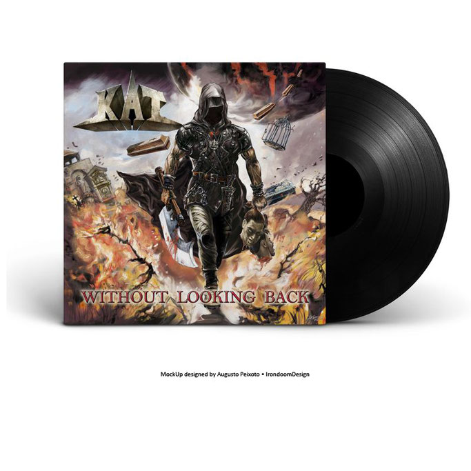 KAT, Without Looking Back, Limited Double Vinyl Edition, Pure Steel records, Metal,  News Rockers And Other Animals, Rock News, HEAVY METAL, Rock Magazine, Rock Webzine, rock news, sleaze rock, glam rock, hair metal