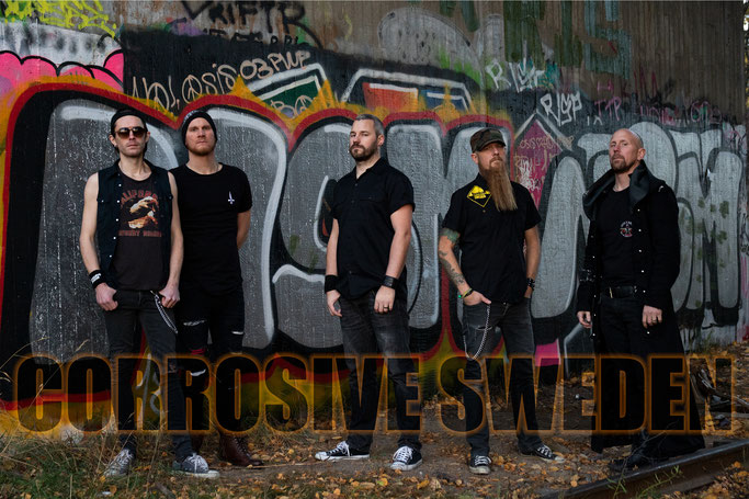 Corrosive Sweden, New Album, Blood And Panic, Angry Me, Fire From A Gun, Metal, Rockers And Other Animals, Rock News, Rock Magazine, Rock Webzine, rock news, sleaze rock, glam rock, hair metal