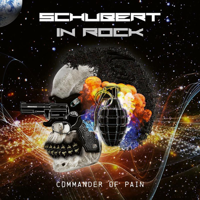 Schubert In Rock, Commander Of Pain, limited edition, Double Vinyl, Pure Steel Records, Rockers And Other Animals, Rock News, Rock Magazine, Rock Webzine, rock news, sleaze rock, glam rock, hair metalAOR, Hard Rock,