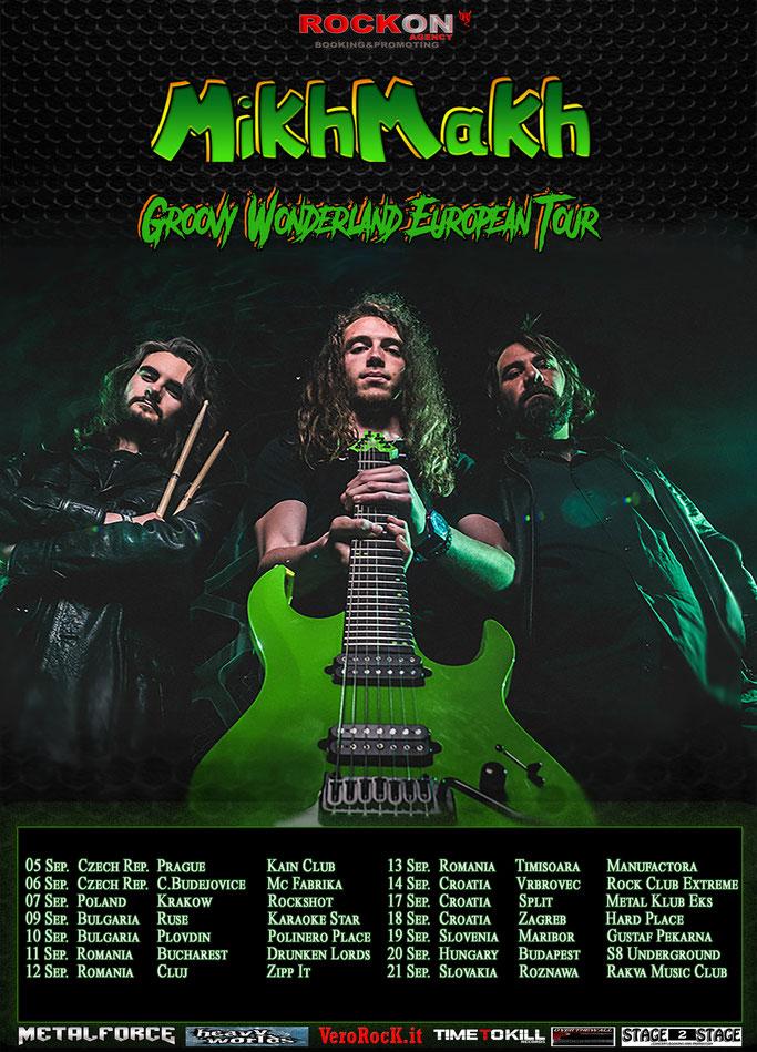 Rock On Agency announces New European Tour for Mikhmakh,