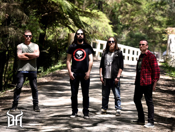 Demonhead: Release New Album Black Devil Lies Today & Australian/New Zealand Tour Announced, rockers and other animals, news