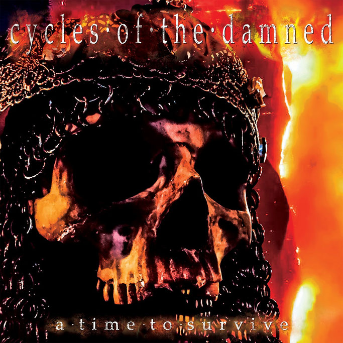 CYCLES OF THE DAMNED Premieres New Album In Full @ Doomed & Stoned; 'A Time To Survive' Album Due Oct. 12th!