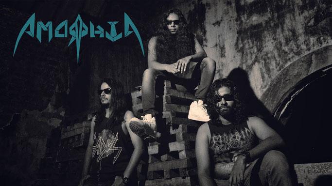 Amorphia: India's Thrashers Release Debut Album Arms to Death on Awakening Records
