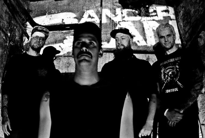 Metal punk, CANCER CLAN, DESTEUFELS, split LP,  7Degrees Records , Merciless Records, rockers and other animals,valeria campagnale, news