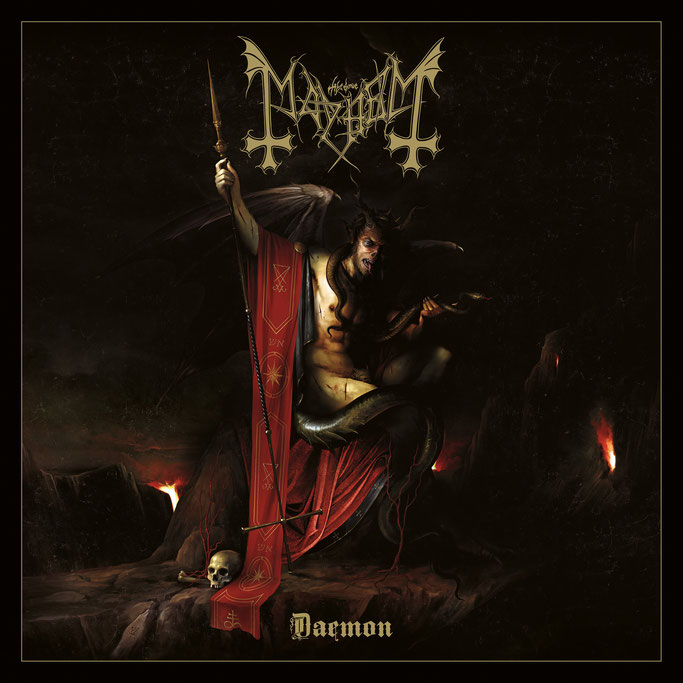 "MAYHEM New Album ""DAEMON"" Today Digitally / Physical Release On November 8th"