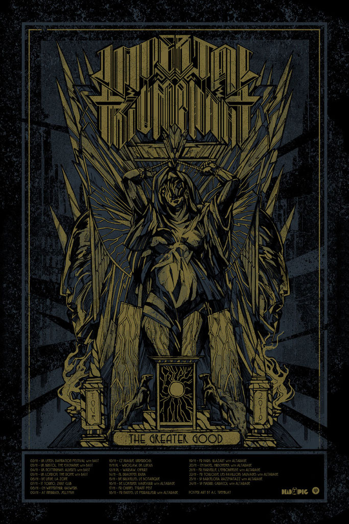 IMPERIAL TRIUMPHANT, Century Media Records, rockers and other animals, news, avant-garde metal