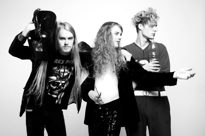 These rock-weirdos from Jyväskylä, Finland will blow your brains out with their upcoming debut EP! Check the music video now