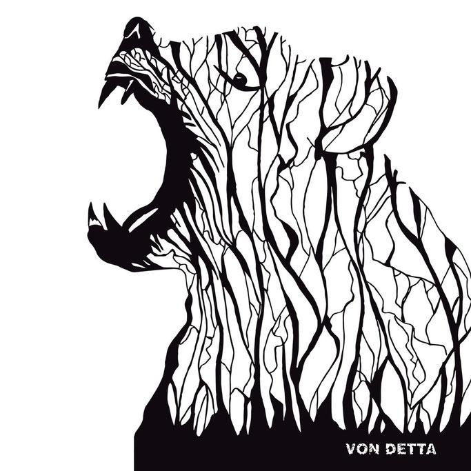 Belgium's VON DETTA Advance 'BURN IT CLEAN' Full-Stream Album Premiere at Riff Relevant! Out Sept. 13 on Polderrecords.