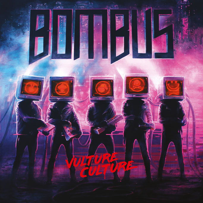 """BOMBUS – Release First Single & Video """"Mama"""" from New Album """"Vulture Culture"""" / Pre – Order Has Started"""