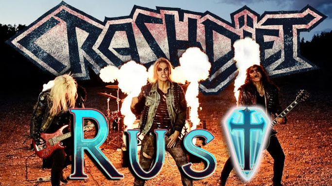 "CRASHDÏET - ""RUST"" (Official Music Video) rockers and  other animals"