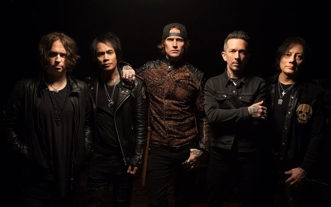 Buckcherry, Right Now, Video, Century Media Records, Warpaint, New Album, TOUR DATES.