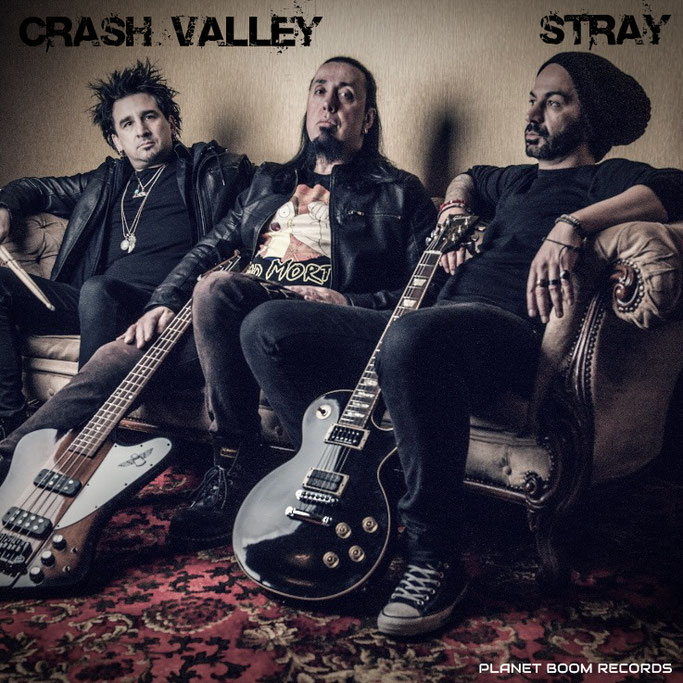 CRASH VALLEY, Stray, new single, video, War babies, News Rockers And Other Animals, Rock News, NWOBHM, Rock Magazine, Rock Webzine, rock news, sleaze rock, glam rock, hair metal