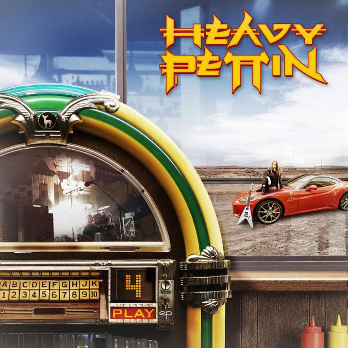 HEAVY PETTIN, New EP , 4 Play, Valentines Day, rockers and other animals, news