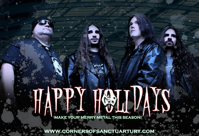 Corners of Sanctuary, New Single, Hold on to Christmas, new track, rockers and other animals, news,