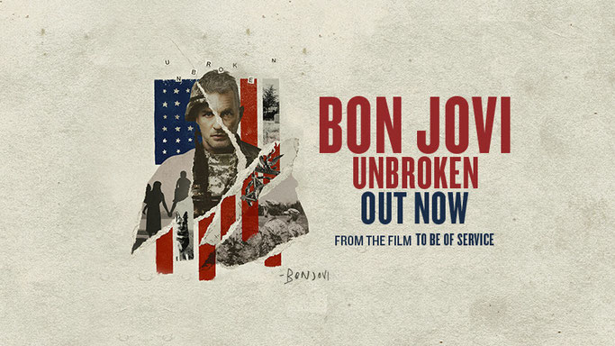 New, Bon Jovi, new Song, Unbroken, To Be of Service, Rockers And Other Animals, hard rock, rock, Patriotic Service Dog Foundation