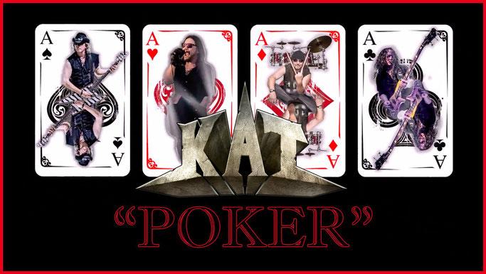 kat, poker, new video, heavy rock, heavy metal