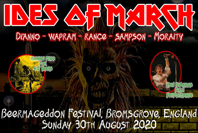 iron Maiden, PAUL Di'ANNO, IDES OF MARCH, rockers and other animals,