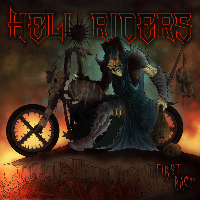 """First Race"", the debut album of the Hell Riders is now available!"