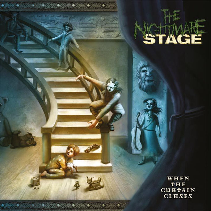 The Nightmare Stage, When The Curtain Closes,  new release, Pure Steel, Rockers And Other Animals, Rock News, Rock Magazine, Rock Webzine, rock news, sleaze rock, glam rock, hair metal