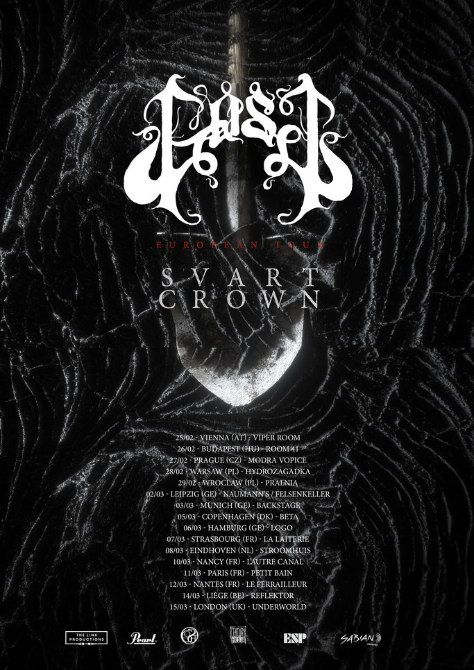 GOST announce European headlining tour with SVART CROWN