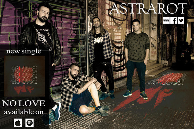ASTRAROT, new single, NO LOVE, new video, rockers and other animals, news