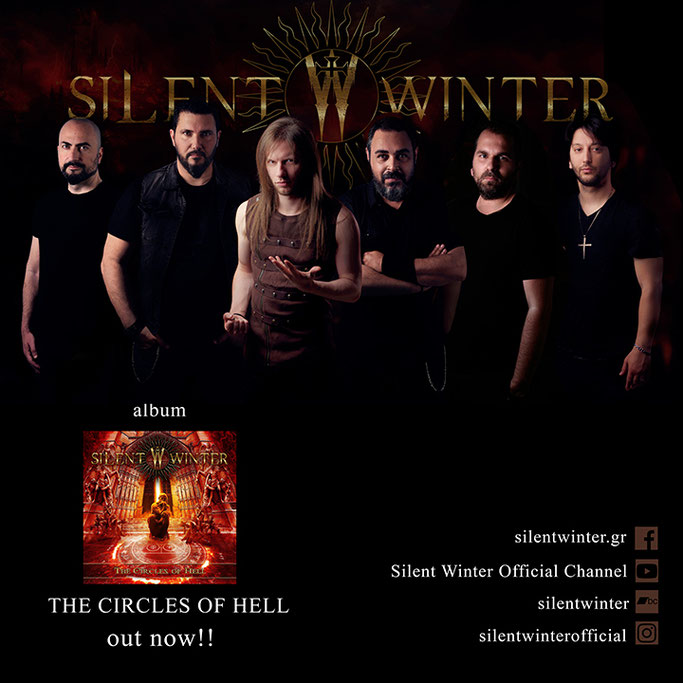 "SILENT WINTER – ""The Circles of Hell"" from the homonymous album"