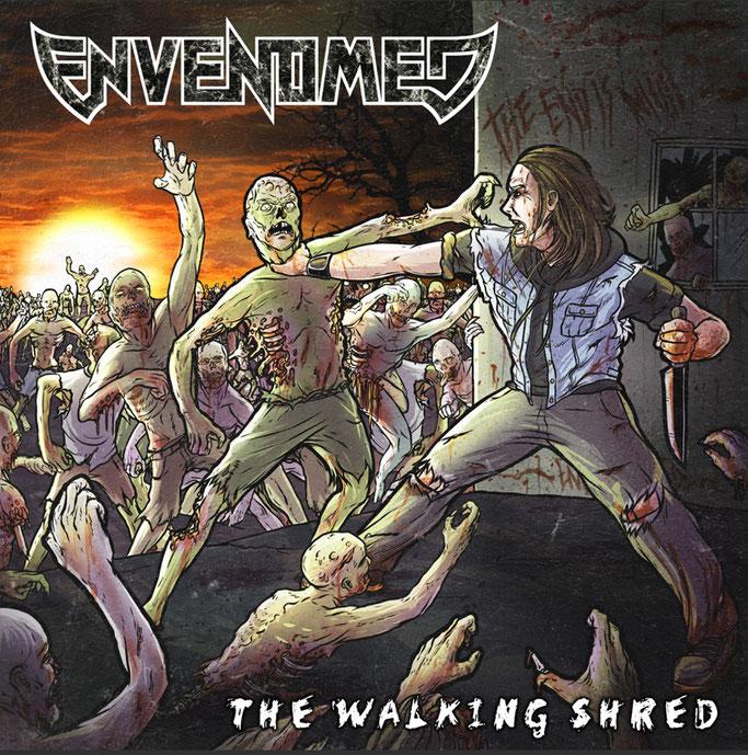 Envenomed, The Walking Shred, El Puerto Records, Metal, News Rockers And Other Animals, Rock News, Rock Magazine, Rock Webzine, rock news, sleaze rock, glam rock, hair metal, heavy metal