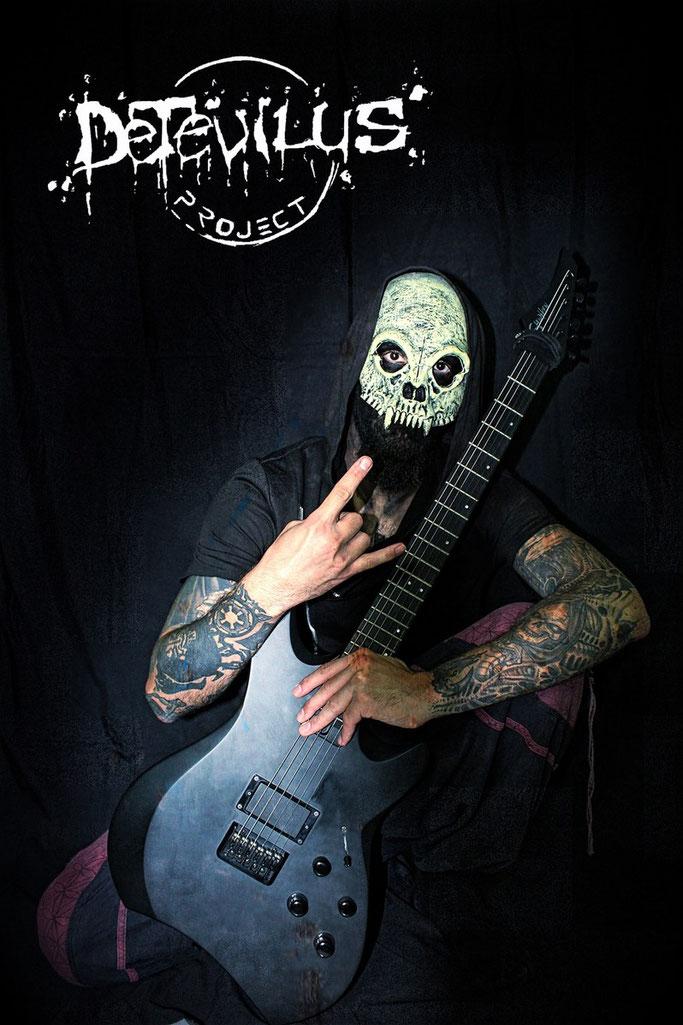 Detevilus Project, Origins,  Death Metal, Progressive Metal, Djent, rockers and other animals, news, Nekrosun