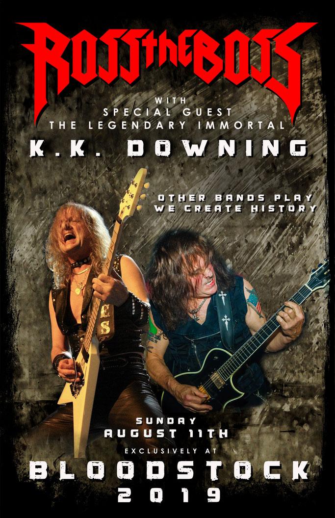 KK Downing, Ross The Boss,Bloodstock Festival,heavy metal festival,News Rockers And Other Animals, Rock News, NWOBHM, Rock Magazine, Rock Webzine, rock news, sleaze rock, glam rock, hair metal
