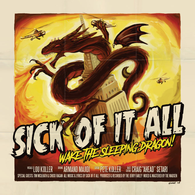 "SICK OF IT ALL release video clip for  ""Self Important Shithead""  European tour with Comeback Kid and Cancer Bats, News Rockers And Other Animals, Rock News, NWOBHM, Rock Magazine, Rock Webzine, rock news, sleaze rock, glam rock, hair metal"