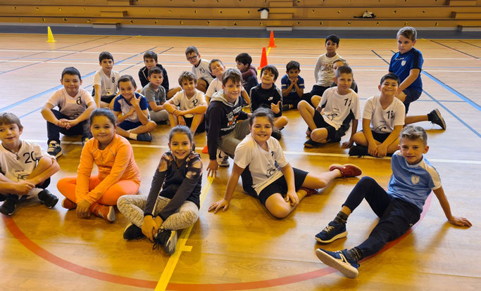 Photo Handball Club roquemaurois - stage de moins de 11 ans